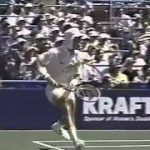 Lendl; side on position.