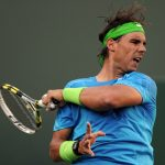 Nadal; follow through finish.