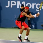 Nadal: side on position.